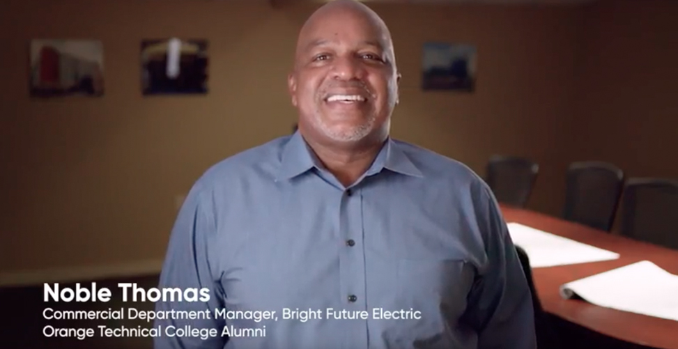 OTC Alumni: Noble Thomas (Bright Future Electric)
