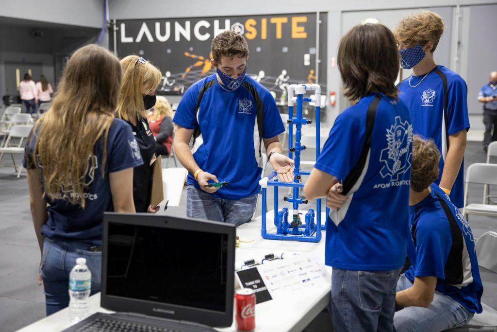 OCPS students participate in the Inaugural OTC Design Build Challenge.